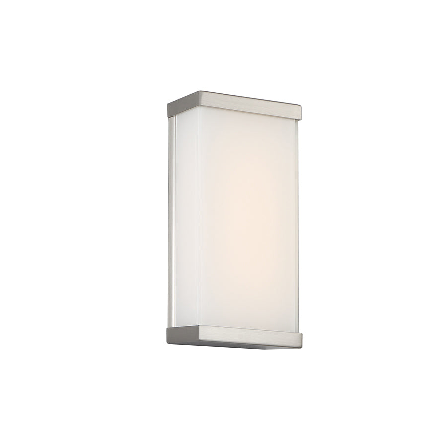 Float LED Wall Sconce In Brushed Nickel