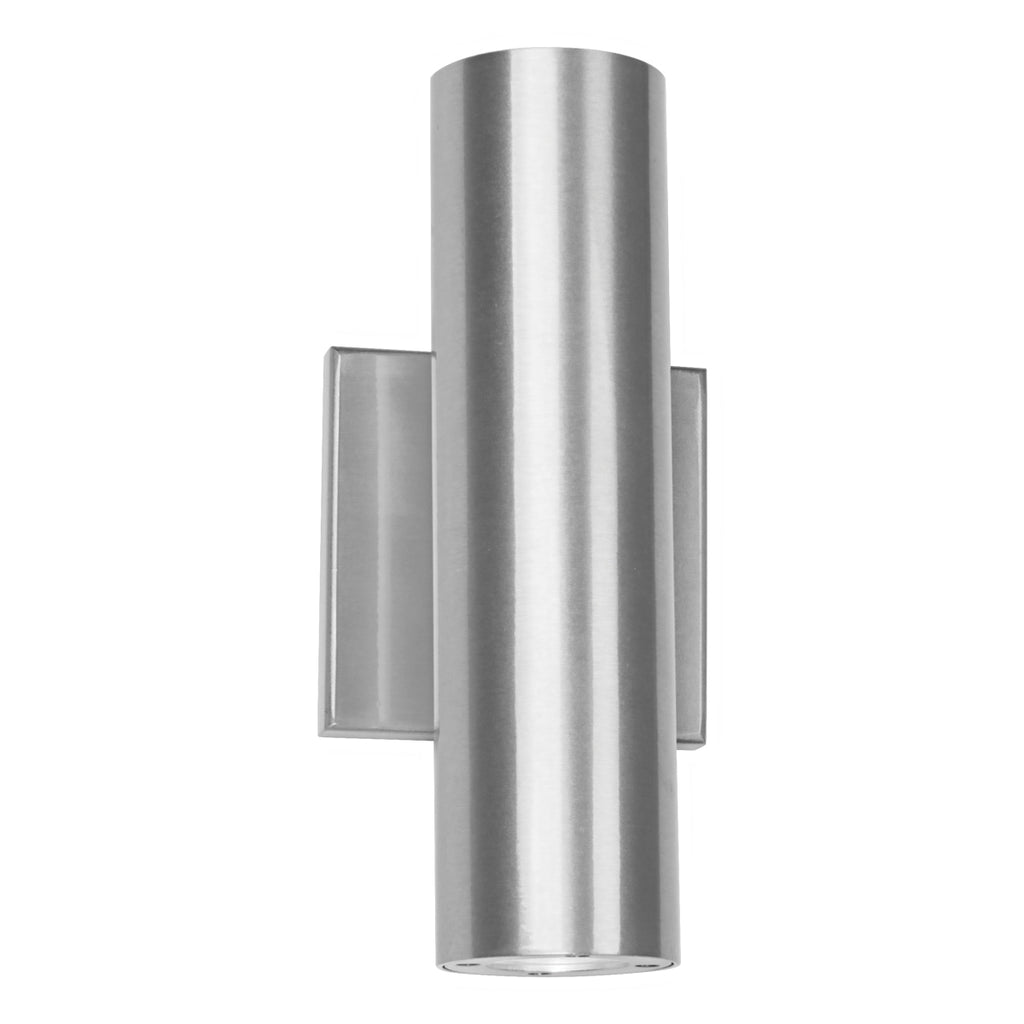 Caliber LED Wall Light In Brushed Aluminum