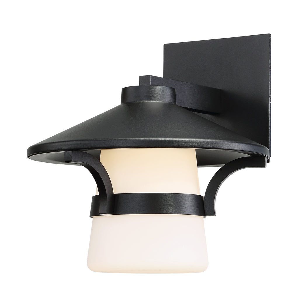 Abode LED Wall Mount In Black