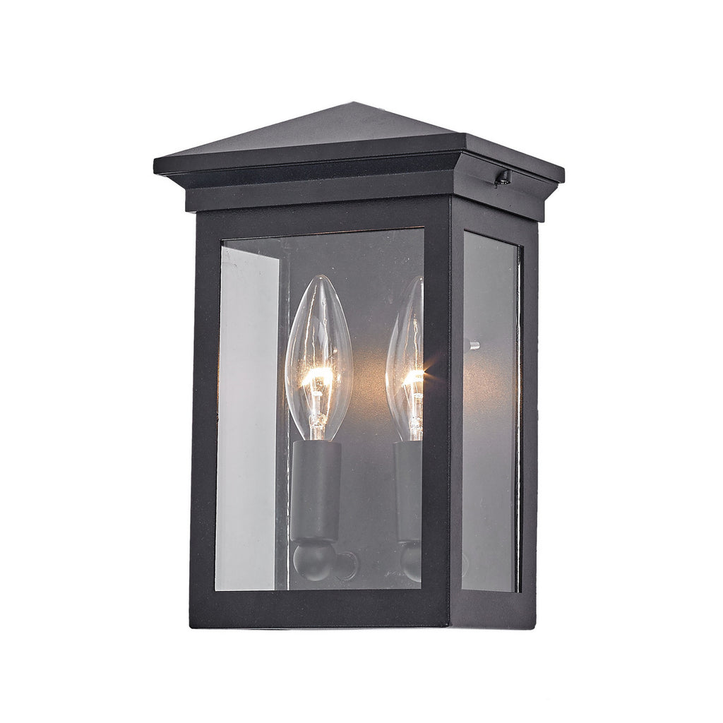Gable Outdoor Wall Light In Black