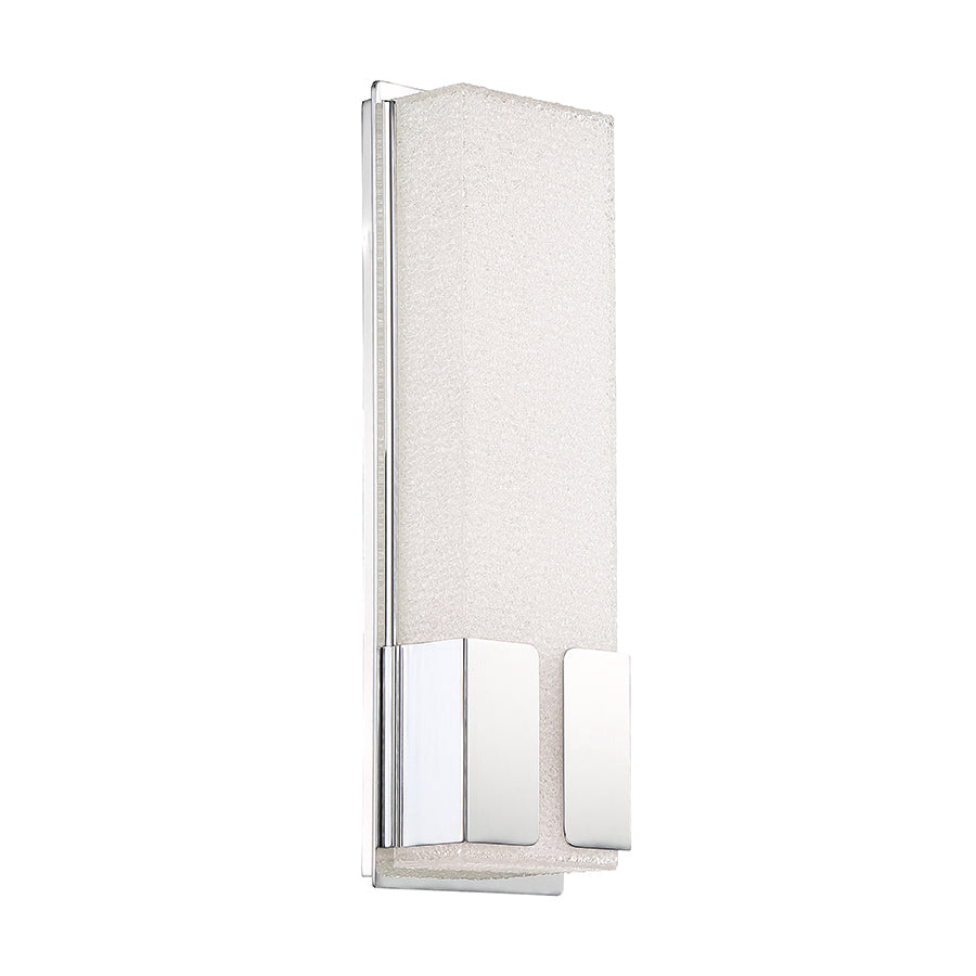 Vodka 1 Light Wall Sconce in Chrome