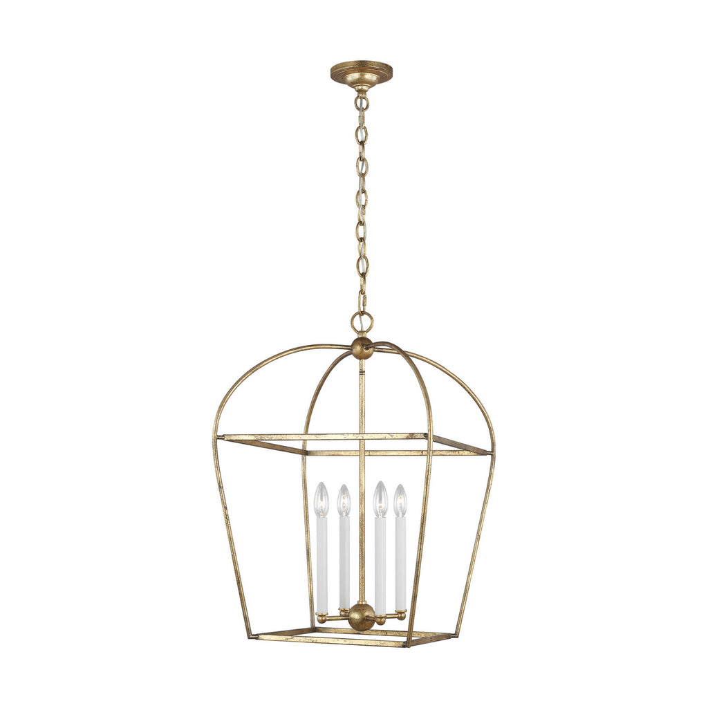 Stonington 4-Light Single Tier Chandelier in Antique Guild