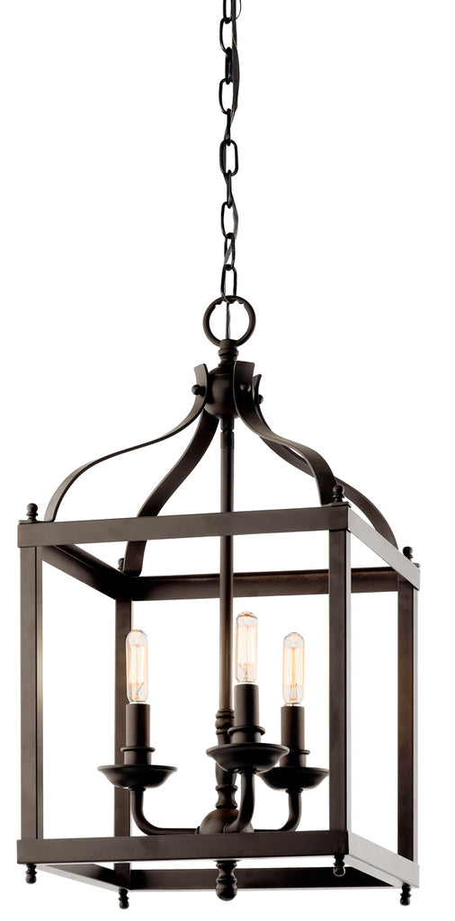 Larkin Indoor Pendant 3-Light in Olde Bronze