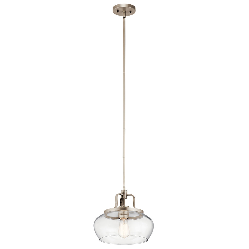 Davenport 1-Light Pendant/Semi-Flush (Convertible)