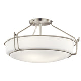 Alkire Semi Flush 4-Light in Brushed Nickel