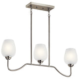 Valserrano 3-Light Linear Chandelier