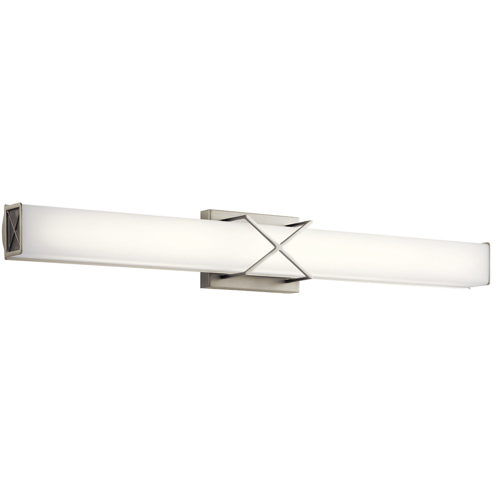 Trinsic Linear Bath Sconce 32 Inch LED in Brushed Nickel