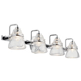 Talland Bath Sconce 4-Light in Chrome