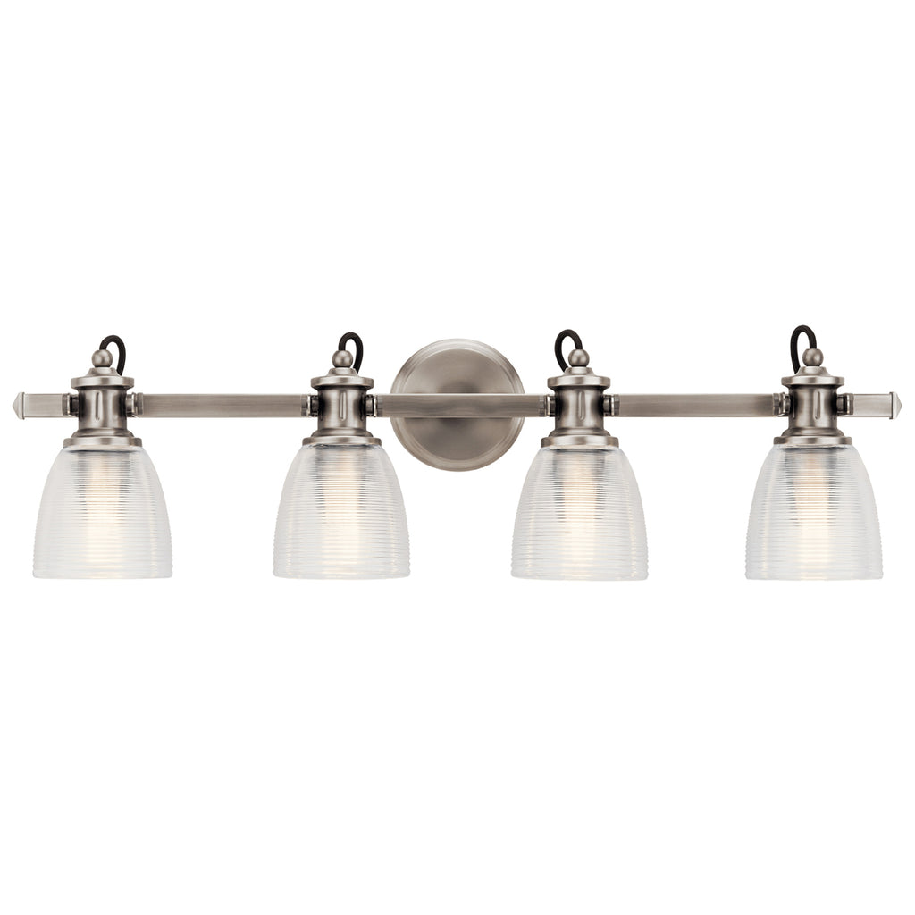 Flagship Bath Sconce 4-Light in Classic Pewter