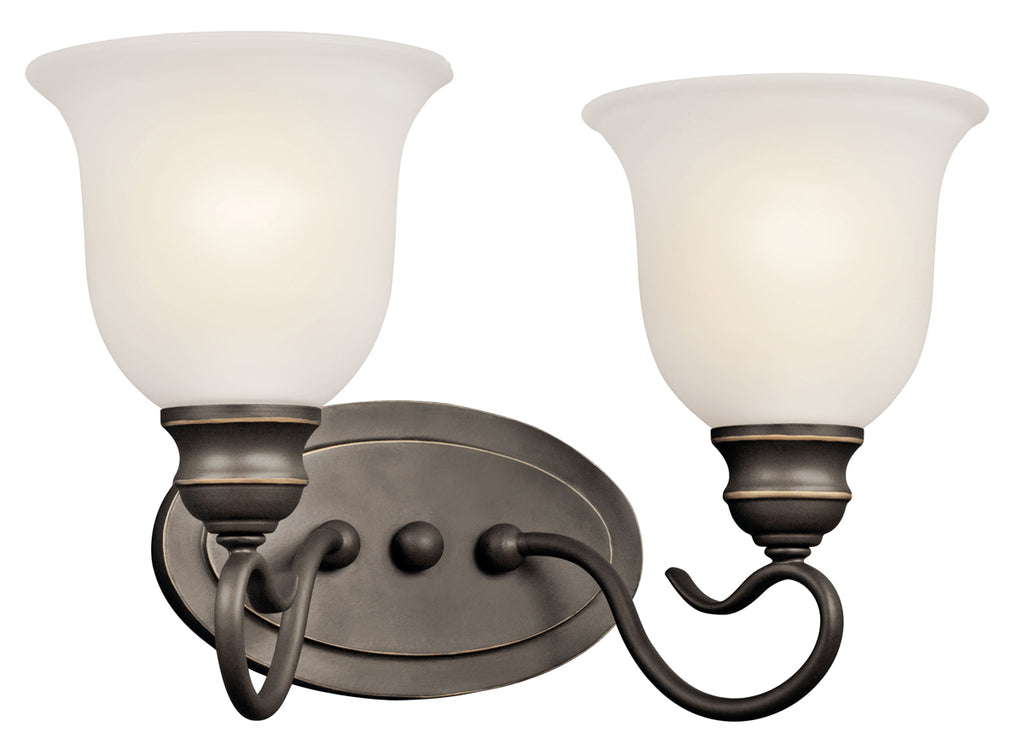 Tanglewood Bath Sconce 2-Light in Olde Bronze