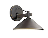Ripley Indoor/Outdoor Wall 1-Light in Olde Bronze