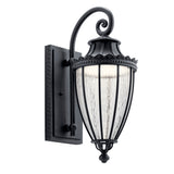 Wakefield Outdoor Wall 1-Light LED in Textured Black