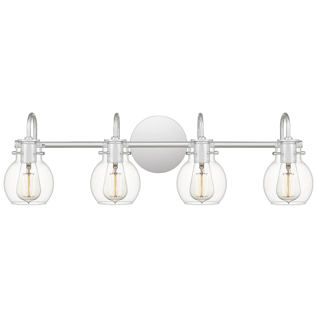 Andrews 4-Light Bath in Polished Chrome