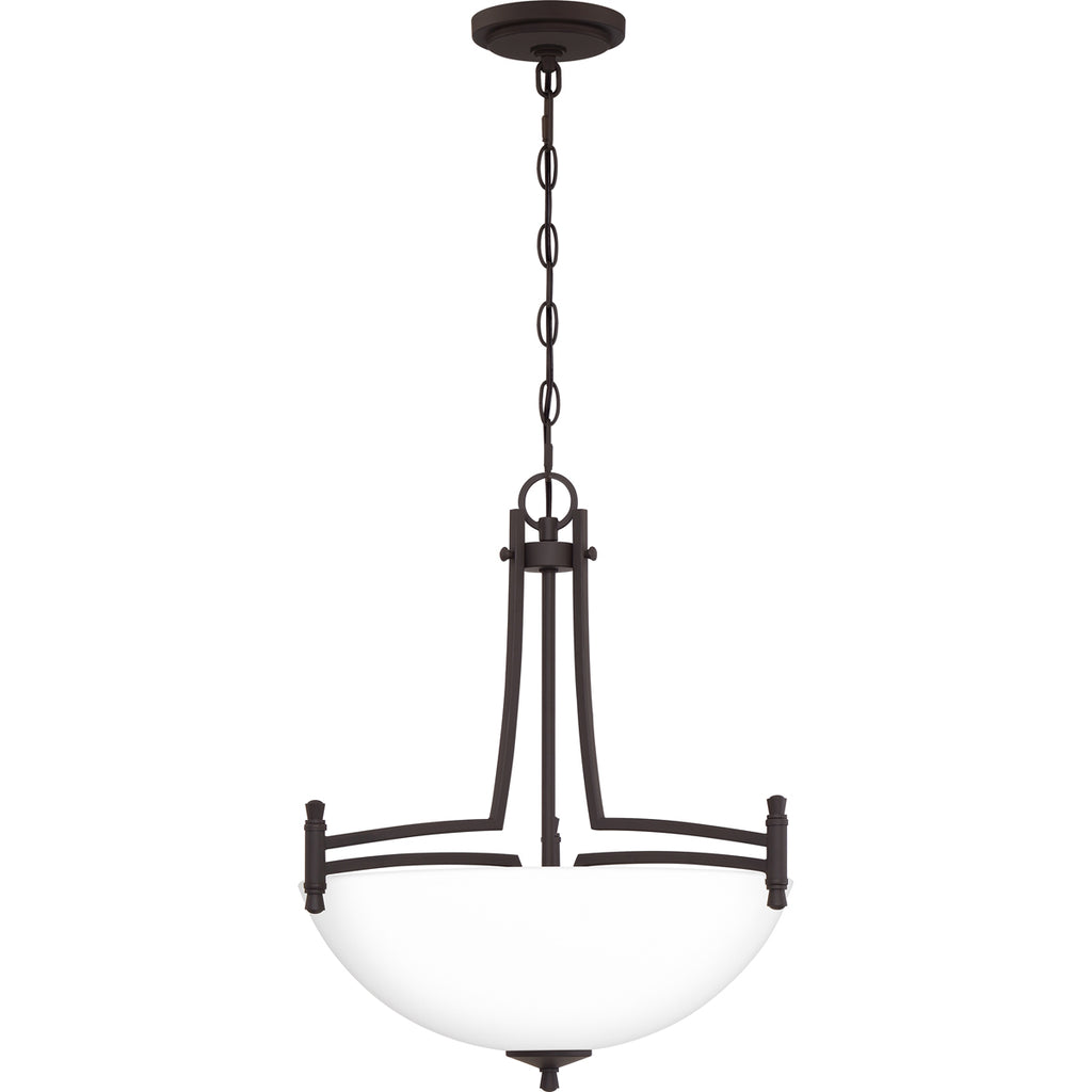 Billingsley 3-Light Pendant in Old Bronze