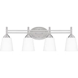 Billingsley 4-Light Bath in Brushed Nickel