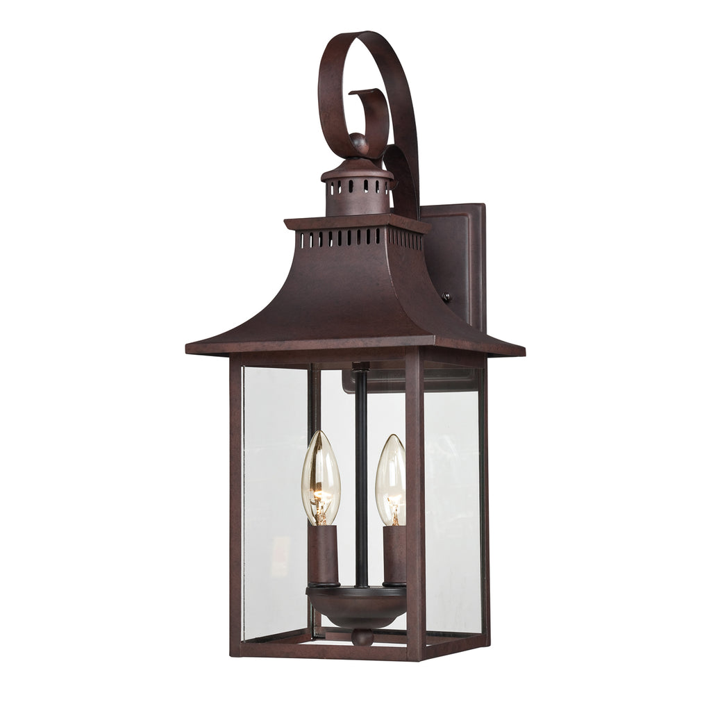 Chancellor 2-Light Outdoor in Copper Bronze