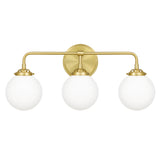 Landry 3-Light Bath in Satin Brass