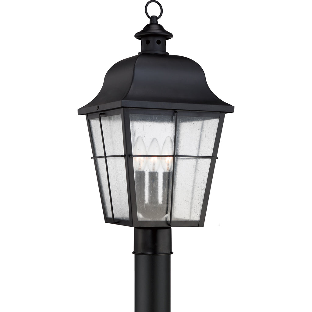 Millhouse 3-Light Outdoor in Mystic Black