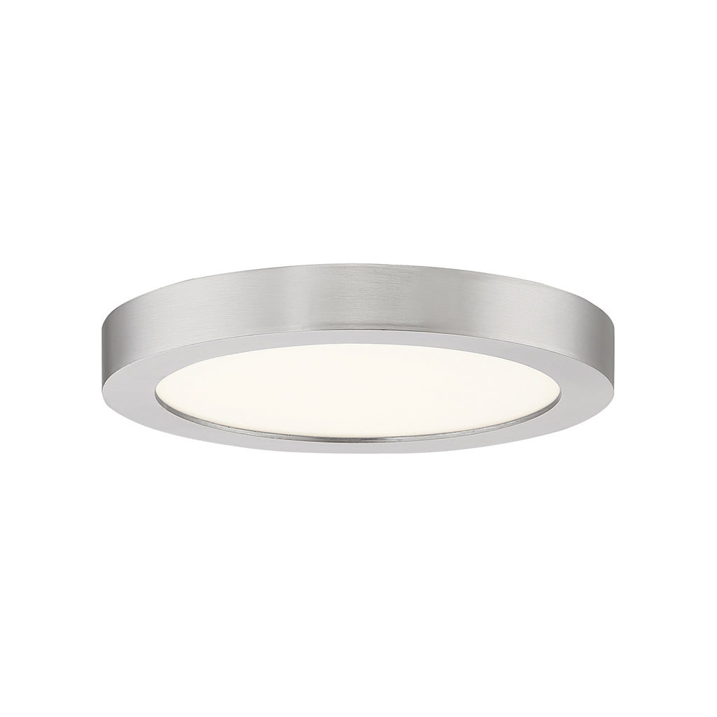 Outskirts Flush Mount in Brushed Nickel