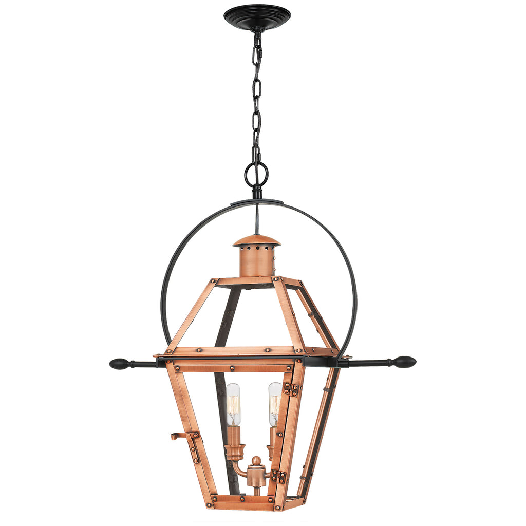 Rue De Royal 2-Light Outdoor in Aged Copper
