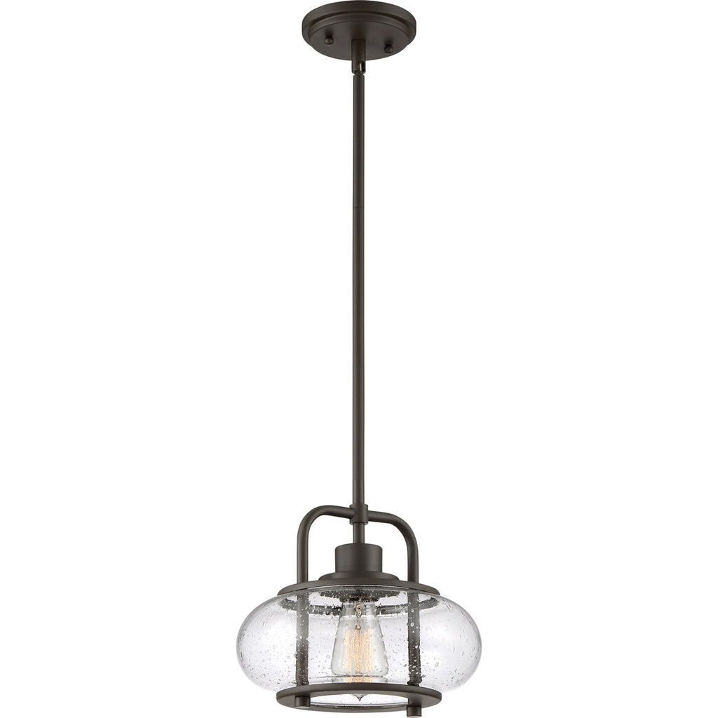 Trilogy 1-Light Mini Pendant in Old Bronze