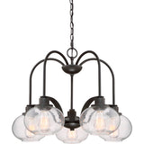 Trilogy 5-Light Chandelier in Old Bronze