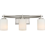 Taylor 3-Light Bath in Brushed Nickel