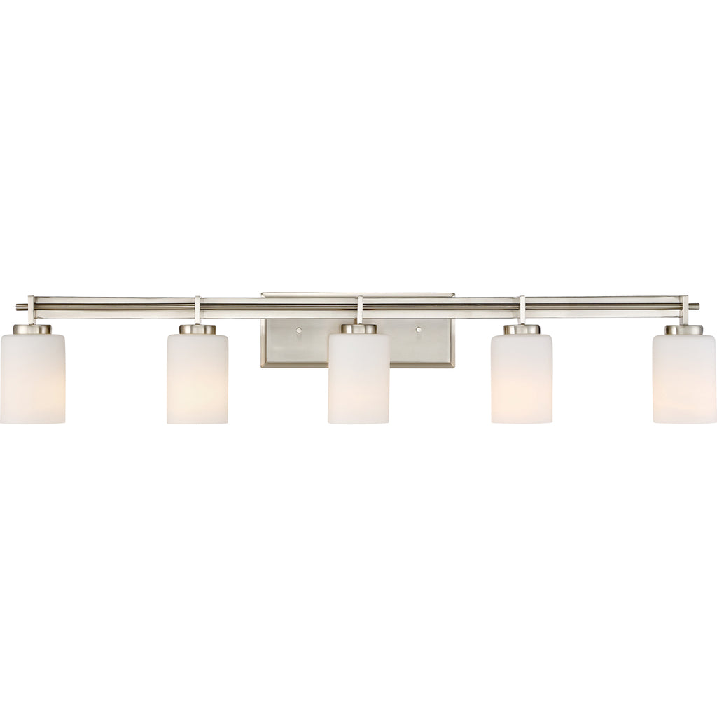 Taylor 5-Light Bath in Brushed Nickel