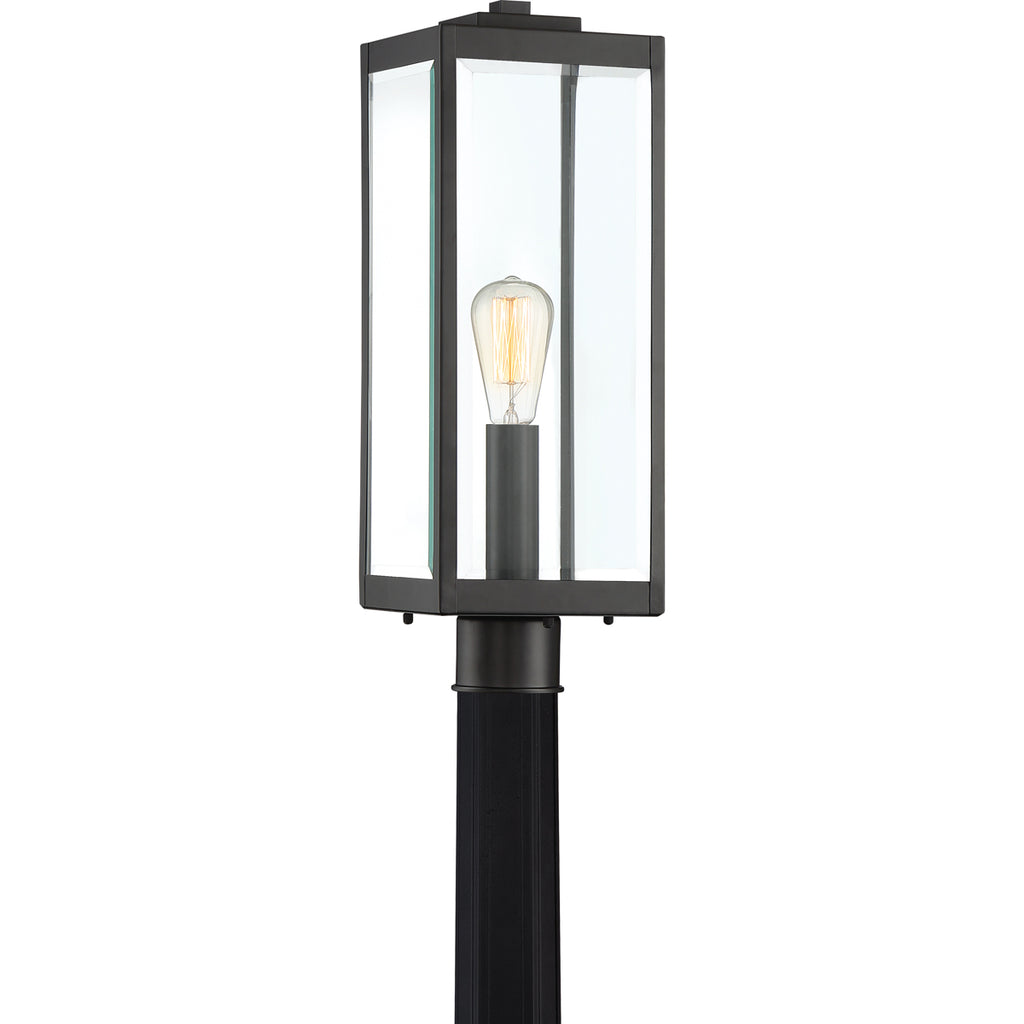 Westover 1-Light Outdoor in Earth Black