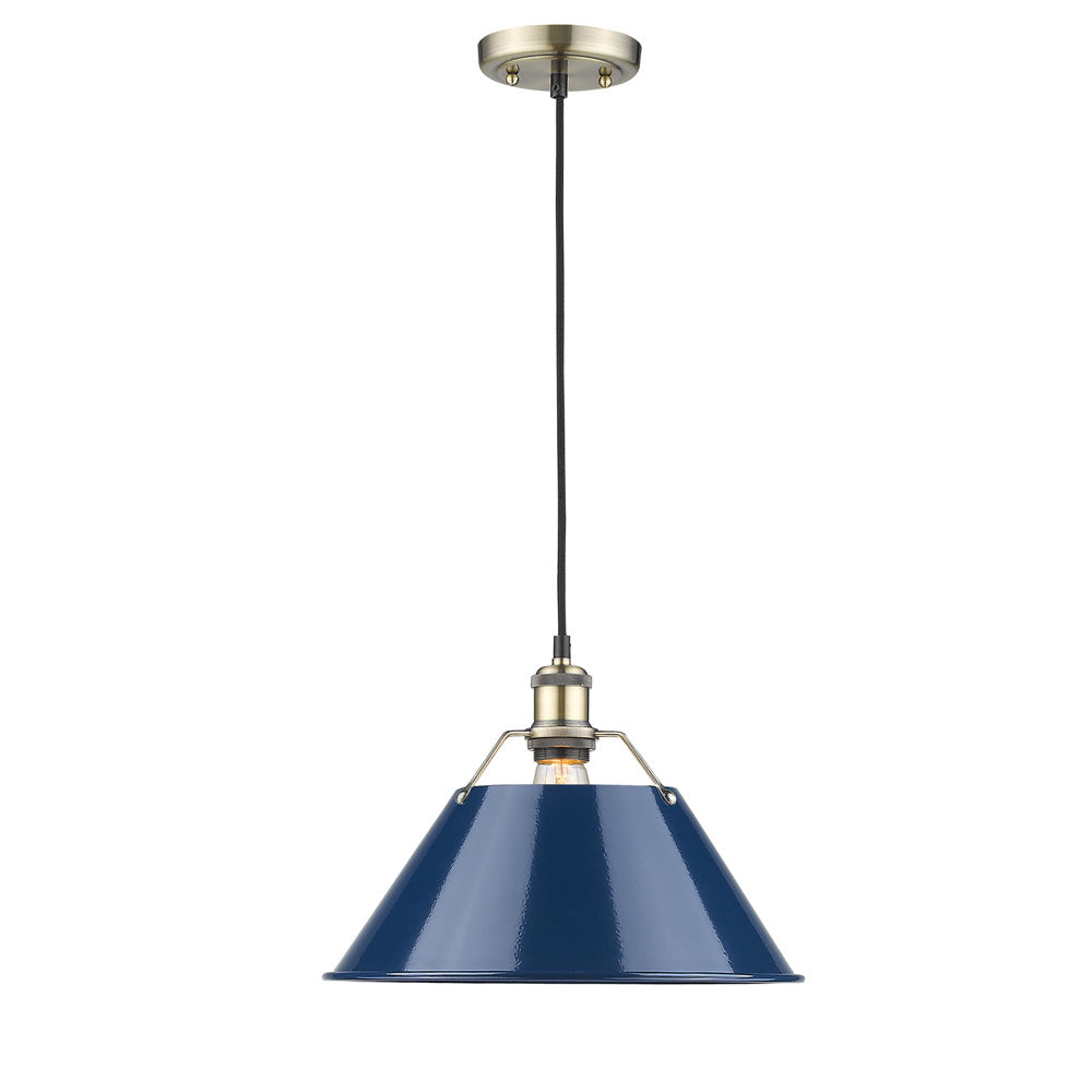 "Orwell 14"" 1-Light Pendant - Lamps Expo"