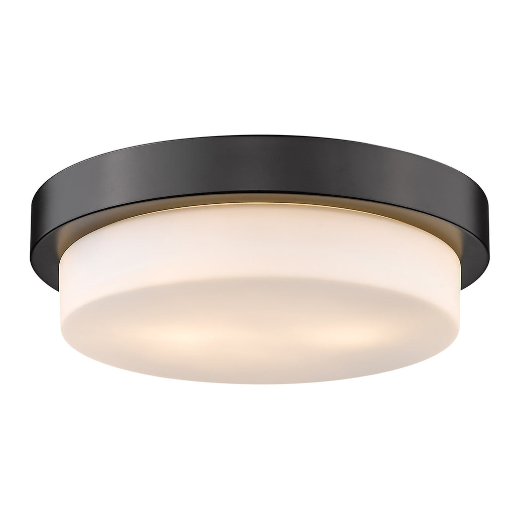 "Multi-Family 13"" Flush Mount - Lamps Expo"