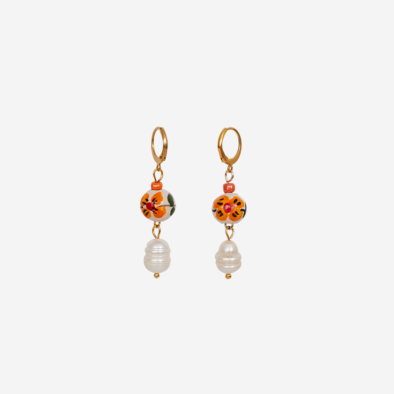 Estella Pearl Earrings
