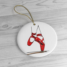 Load image into Gallery viewer, Pointe Shoe Ornament