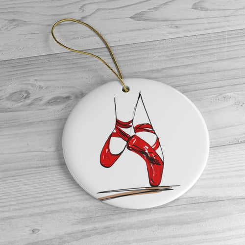 Pointe Shoe Ornament