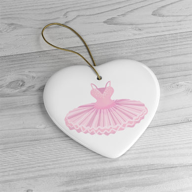 Tutu Ceramic Ornament