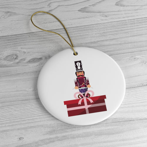 Nutcracker Gift Ornament