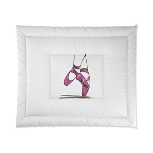Ballet Pointe Shoes Comforter