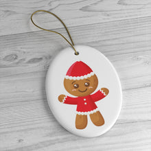 Load image into Gallery viewer, Gingerbread Man Ornament