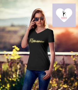 Flamenco V-Neck Tee