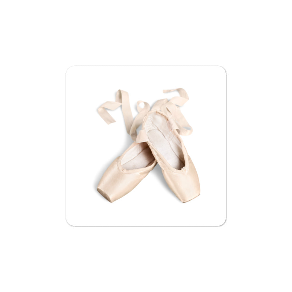Pointe Shoes Sticker