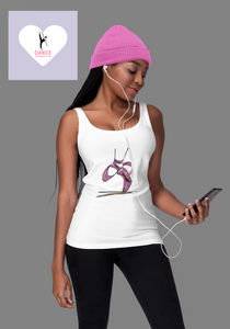 Ballet Pointe Shoes Tank Top