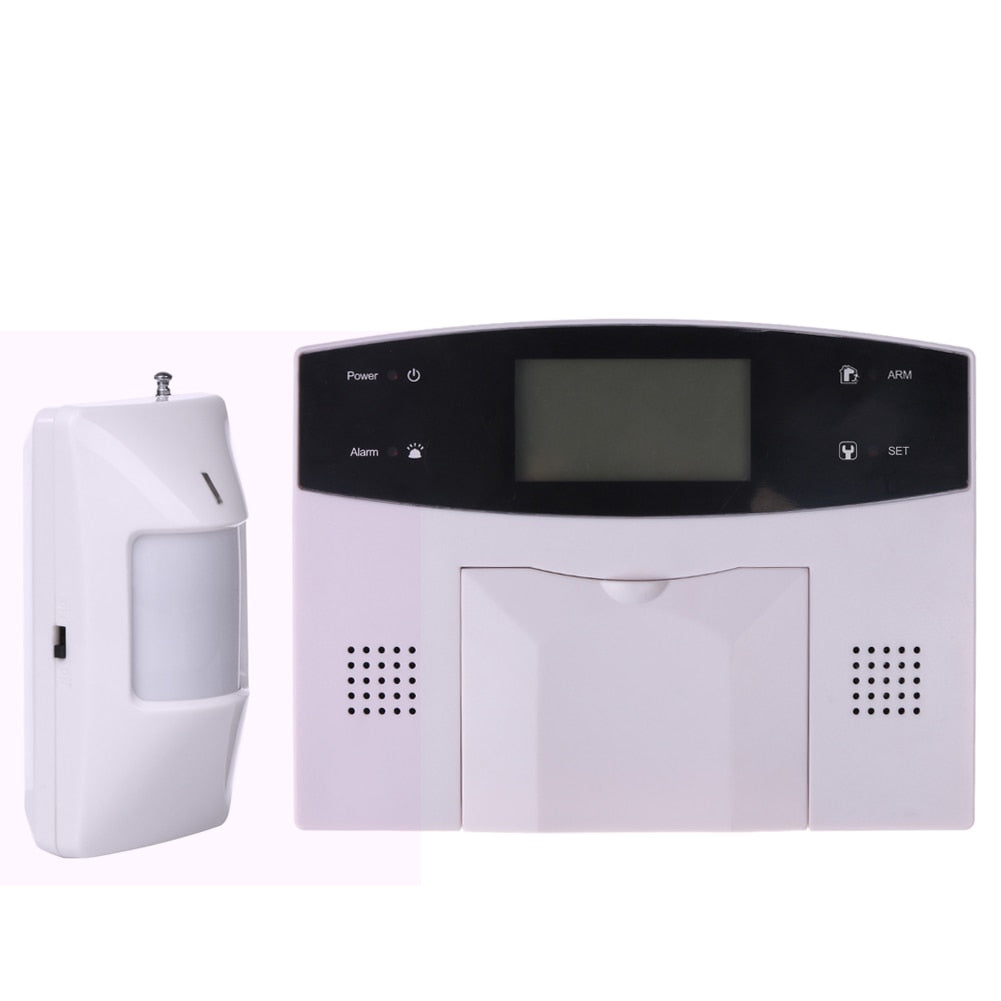 Lcd Keyboard Voice Dual Wire Wireless Sms Home Gsm Alarm System Wiring House Intelligent Auto Burglar Door Security Systems