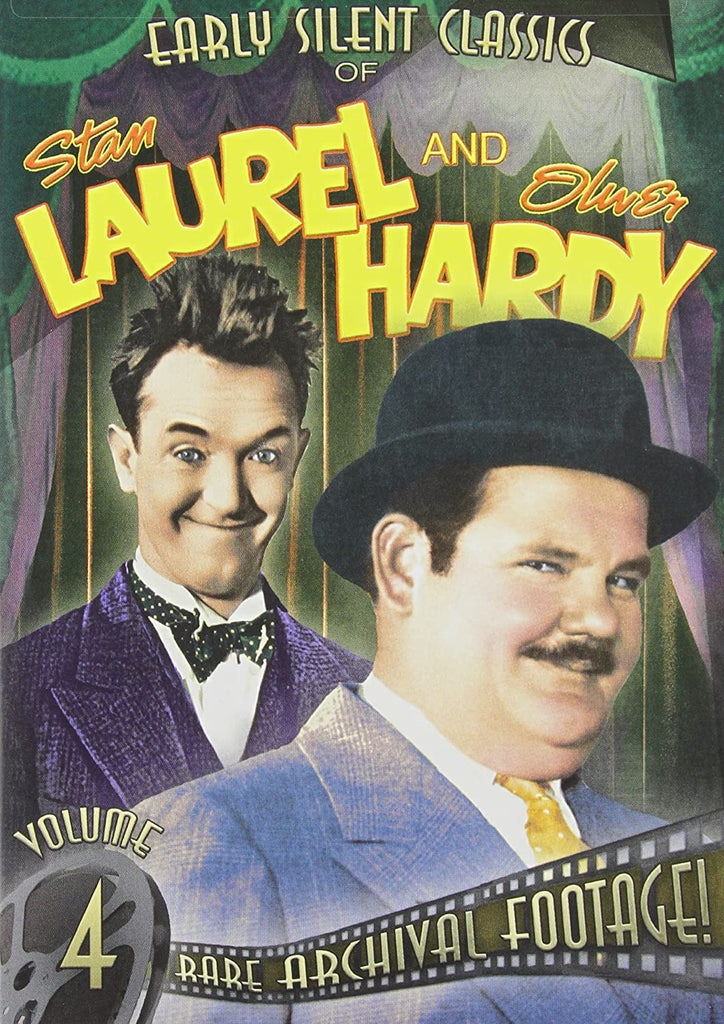 Stan Laurel & Oliver Hardy: Early Silent Classics, Volume 4 DVD