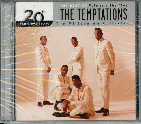The Temptations 20th Century Masters: The Millennium Collection CD, New, Sealed