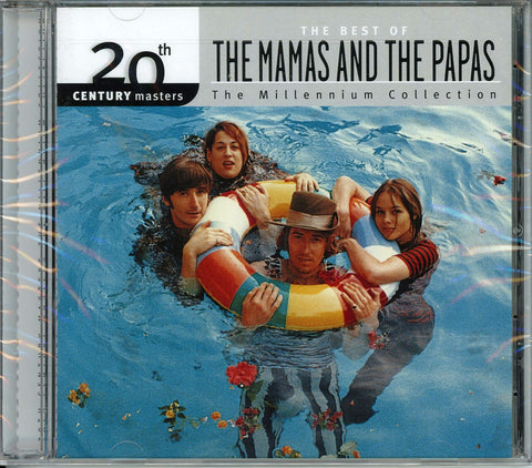The Mamas & The Papas 20th Century Masters: Millennium Collection CD, New, Sealed