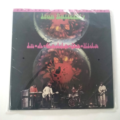 "Iron Butterfly In-A-Gadda-Da-Vida 12"" LP Vinyl Limited Edition Original Master Recording"