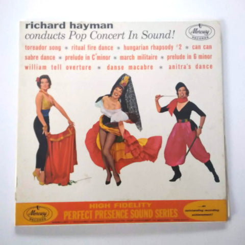 "Richard Hayman: Conducts Pop Concert In Sound! 12"" LP Vinyl Record"