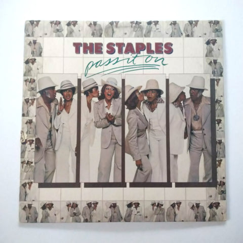 "The Staples Pass It On 12"" LP Vinyl Record"