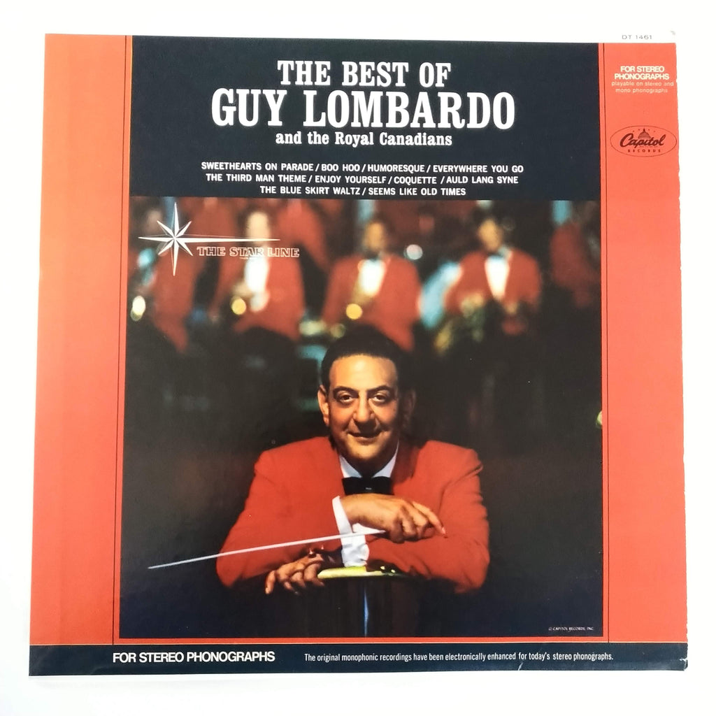 "The Best Of Guy Lombardo And The Royal Canadians 12"" LP Vinyl Record"