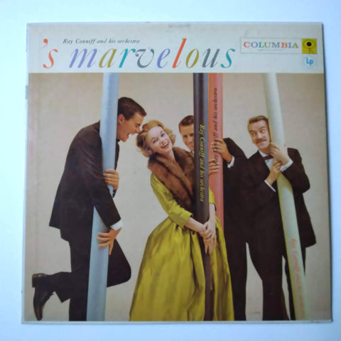 "Ray Conniff And His Orchestra* ‎– 'S Marvelous 12"" LP Vinyl Record"
